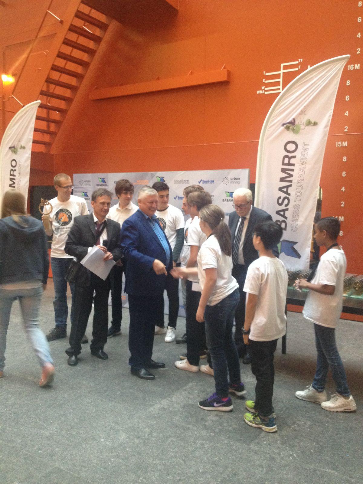 Karpov bij BASAMRO jeugdtoernooi 2017